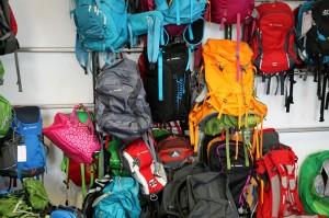 Man sieht es an den Büros der Produktmanager: VAUDE hat schon den einen oder anderen Rucksack entworfen.