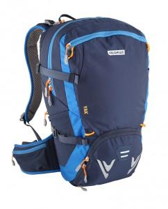 Velorucksack, der auch fürs Wandern eingesetzt werden kann.