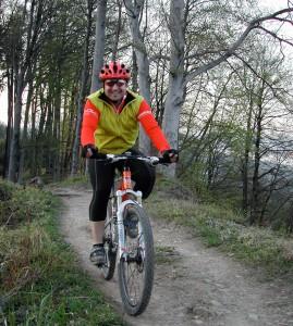 Seit 2008 verboten: Velofahren auf dem Albisgrat.