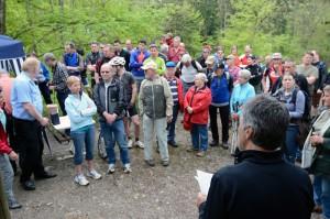 Über 200 Personen waren am Sihlwaldtreff dabei.