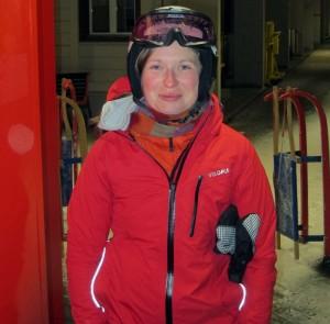 Astrid trug die MONSUN 3.0 auch auf Ski- und Schlittelpiste. Und war sehr zufrieden.