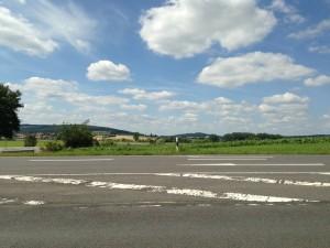 Wenig Verkehr und schöne Umgebung: Die 140 Kilometer von Stuttgart nach Coburg waren ein Highlight.