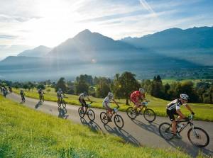 Mountainbike-Marathon vor wunderbarer Kulisse: o-tour 2013.