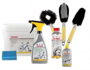 Unsere PETRUS-Produkte: Eigentlich für das Velo entwickelt, lassen sie sich vielseitig einsetzen. :-)
