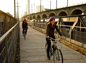Das Velofahren soll auch in Städten Spass machen.