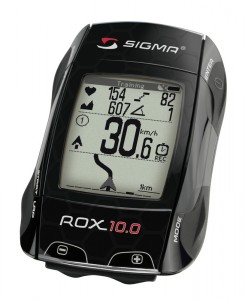 Mit dem ROX 10 betritt SIGMA das Feld der GPS Computer.