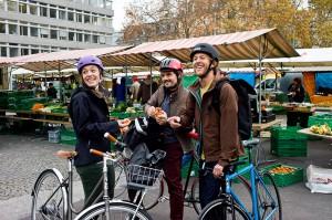 In der Stadt wird das Velo als flexibles Verkehrsmittel immer beliebter.