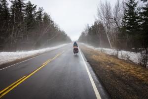 Ostkanada im April: Noch ist es kalt, und Schnee liegt auch noch.
