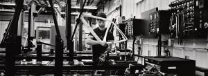 Herstellung und Lackierung von Rahmen bei TREK in Wisconsin.