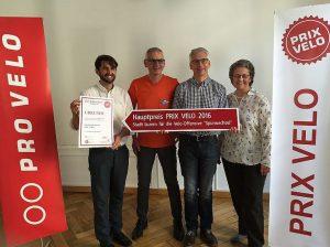 Die Gewinner des Hauptpreises (Stadt Luzern) ...