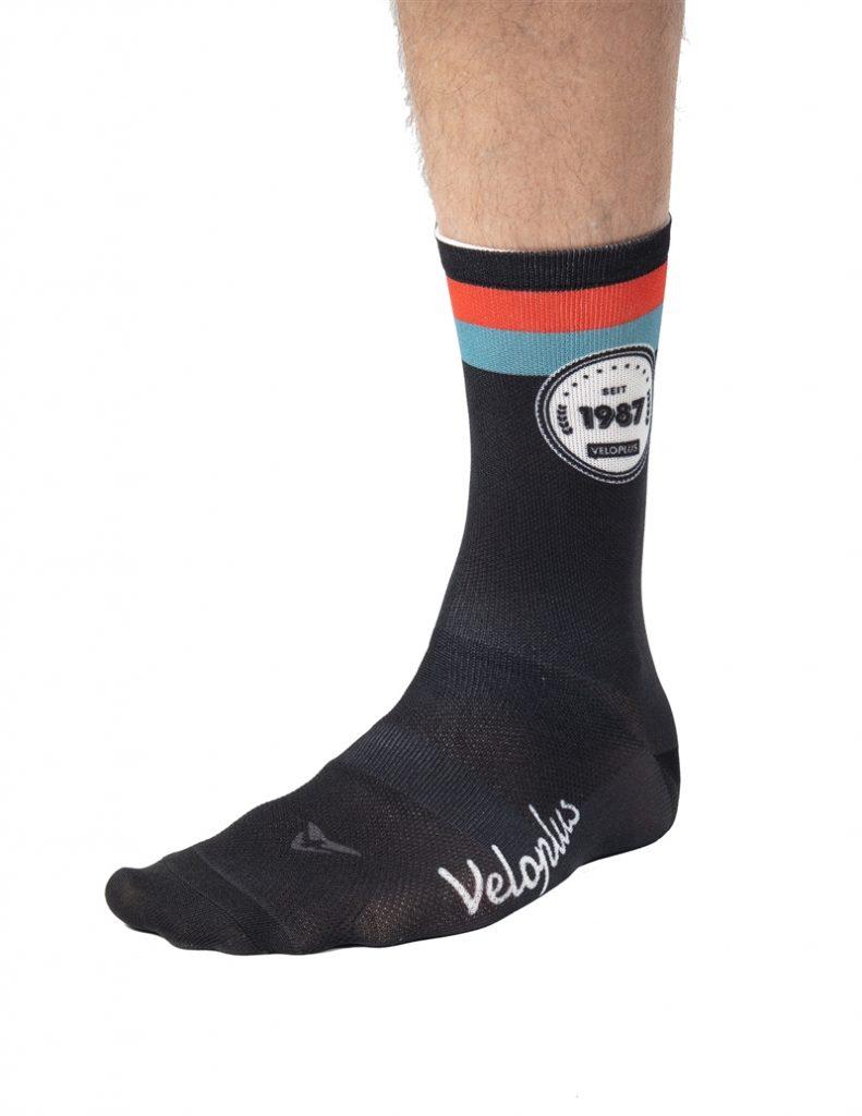 Veloplus Socken 1987 schwarz