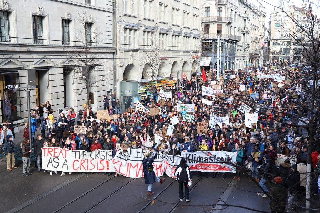 Klimastreik für den Klimaschutz